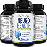 Nootropics Brain Supplement support - Memory Booster for Mind Focus Reduce Anxiety...