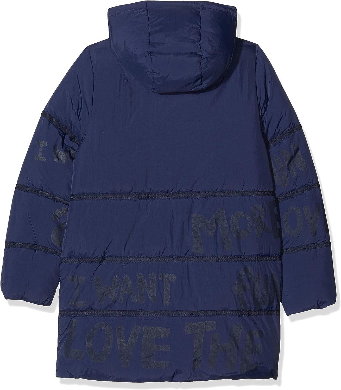 Desigual Girls Coat Cerezas