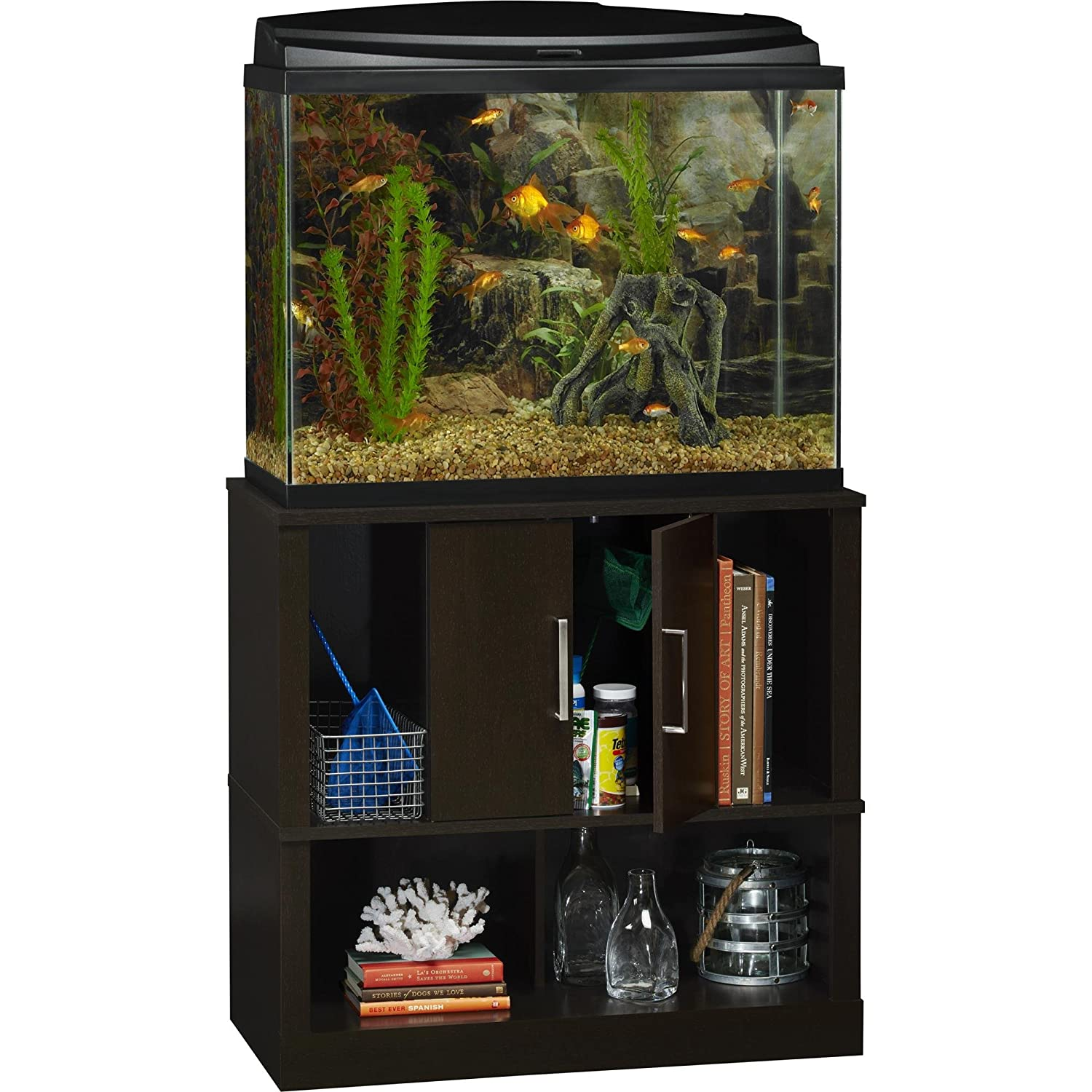 Amazon Ameriwood Home Laguna Tide 29 37 Gallon Aquarium Stand