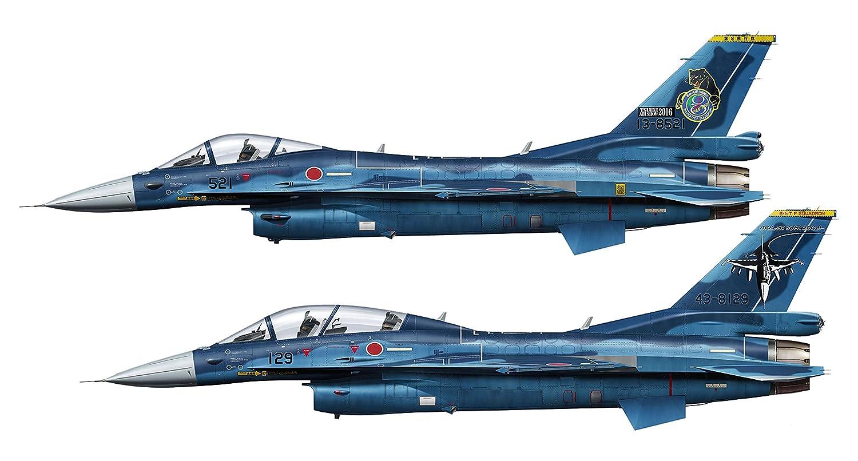 Hasegawa 1//48 Japan Air Self-Defense Force Mitsubishi F-2A Plastic Model PT27