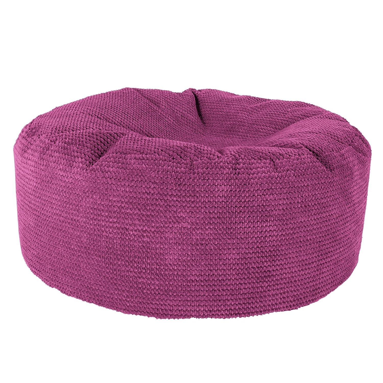 Lounge Pug®, Sitzhocker Pouf, Sitzpouf, Pom-Pom Pink