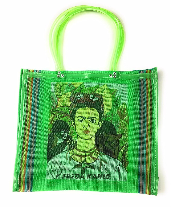 Frida Kahlo - Bolso, bolsa de la compra de la compra, bolsa de la compra de México, Mexican Folk Art, 100% reciclado de botellas de plástico, Eco-friendly ...