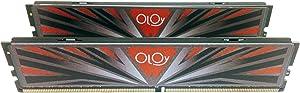 OLOy DDR4 RAM 16GB (2x8GB) 3000 MHz CL16 1.35V 288-Pin Desktop Gaming UDIMM (MD4U083016BBDA)