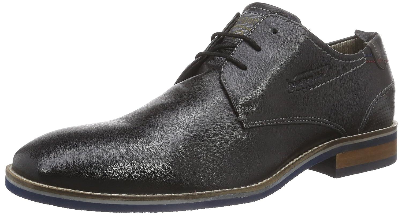 Bugatti312106024000 - Zapatos de Cordones Hombre 43 EU|Negro - Noir (Schwarz 1000)