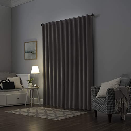 Reviewed: Sun Zero Hampshire Velvet Noise Reducing Thermal Extreme 100 Blackout Back Tab Curtain Panel