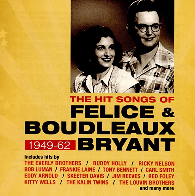 Amazon   The Hit Songs Of Felice & Boudleaux Bryant 1949-62   V/A ...