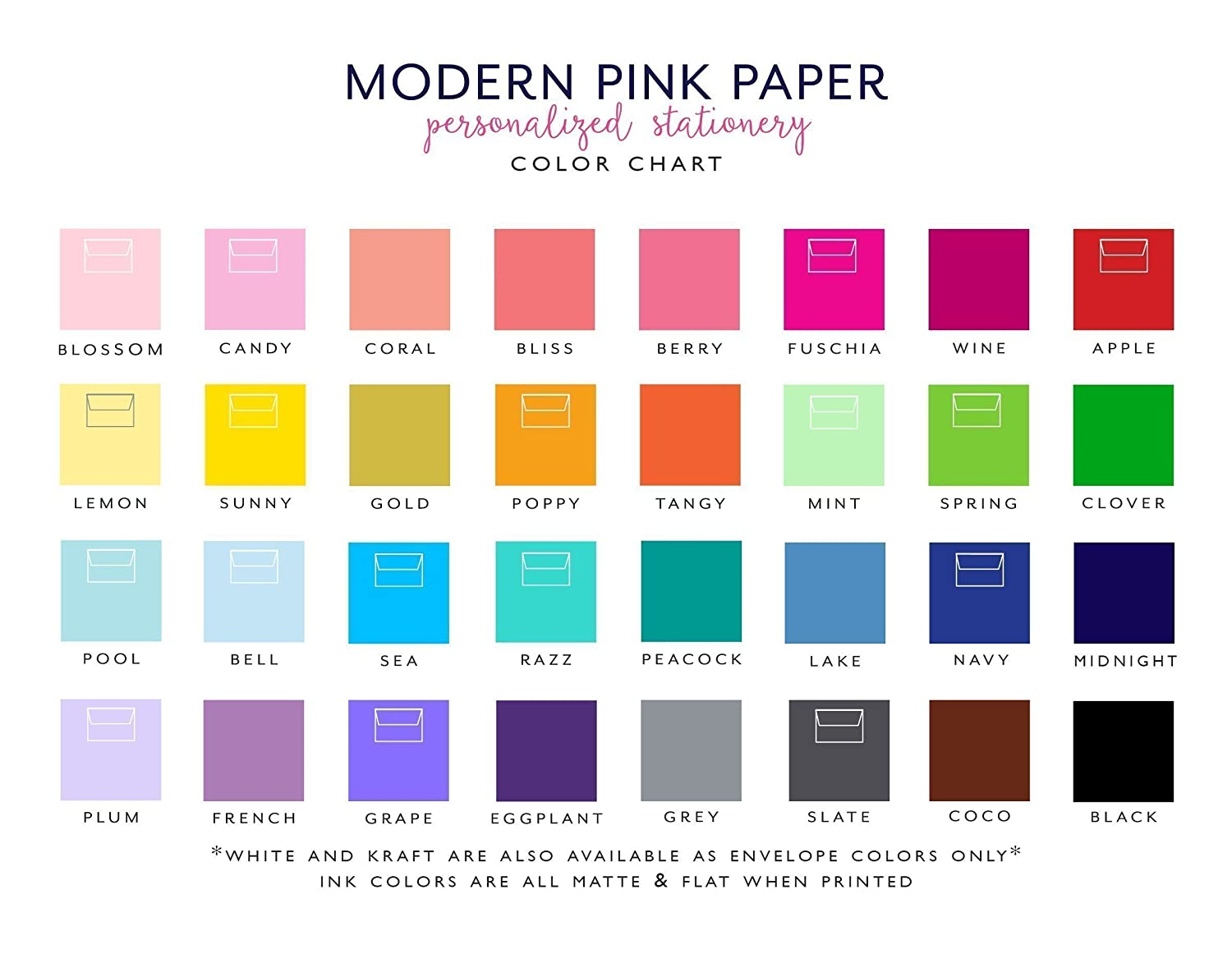 Personalized Kids Lined Notepad Your choice of ink color and envelope color Personalized Stationary for girls size 5.5in x 8.5in 50 sheets