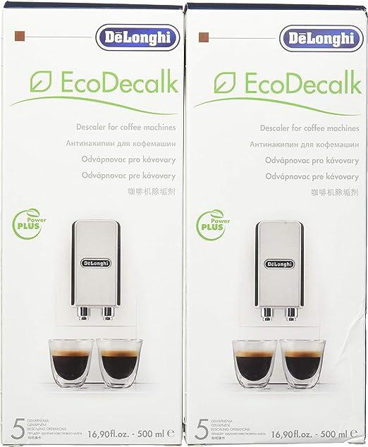 Amazon.com: DeLonghi Eco desincrustación Solución. 16,9 onza ...