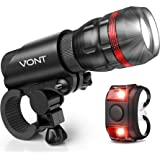 Vont 'Scope' Bike Light, Bicycle Light Installs in Seconds Without Tools, Powerful Bike Headlight Compatible with…