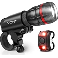 Brightest Bike Light on Amazon - Comes With FREE TAIL LIGHT(Limited Time) - Tools-Free Installation in Seconds - The…
