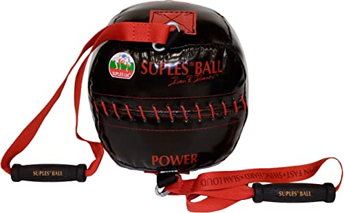 Suples Ball - Fitness, Bulgarian Bag, Crossfit, Wrestling, Judo, Grappling, Functional Training, MMA, Sandbag, Core, Medicine Ball