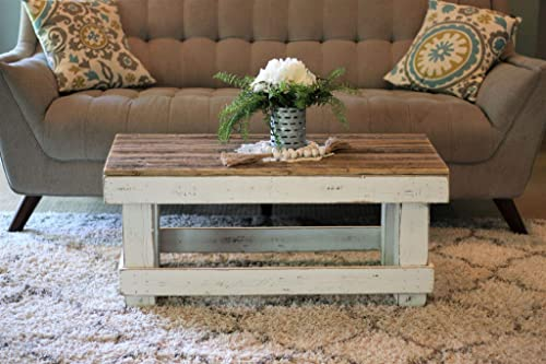 White Combo Coffee Table