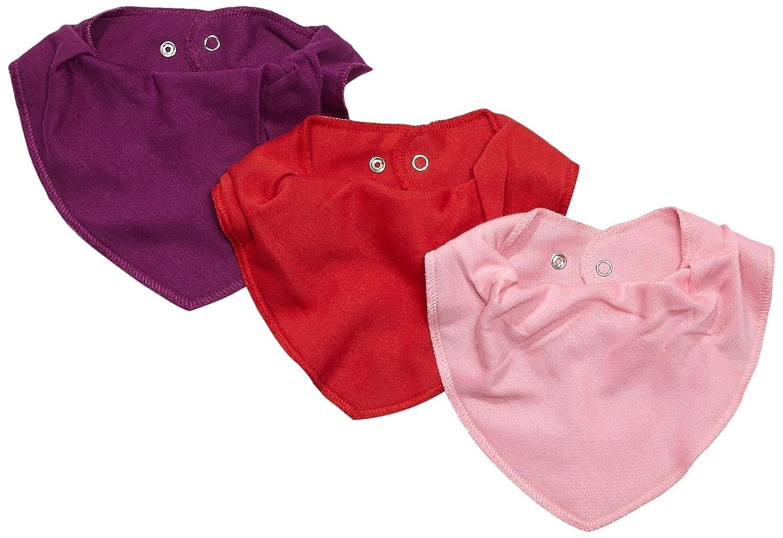 Care Baberos para Bebé Niña, Paquete de 3 Brands 4 Kids A/S 4139