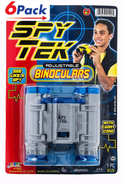 Binoculars Great Zoom (Pack of 6) by JA-RU | | Item #1500-6