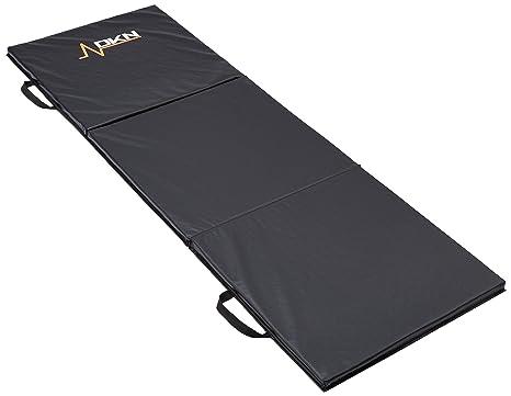 DKN Colchoneta Tri-Fold Negro: Amazon.es: Deportes y aire libre