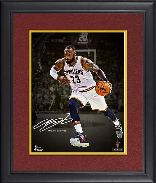 LeBron James Cleveland Cavaliers Framed 11\