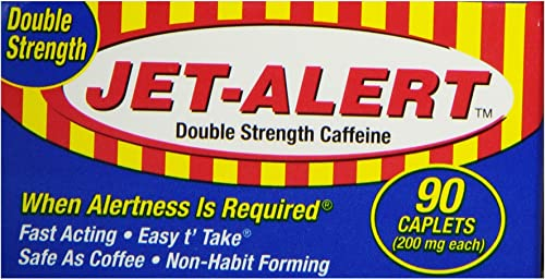 Jet-Alert Double Strength, 90 caplets