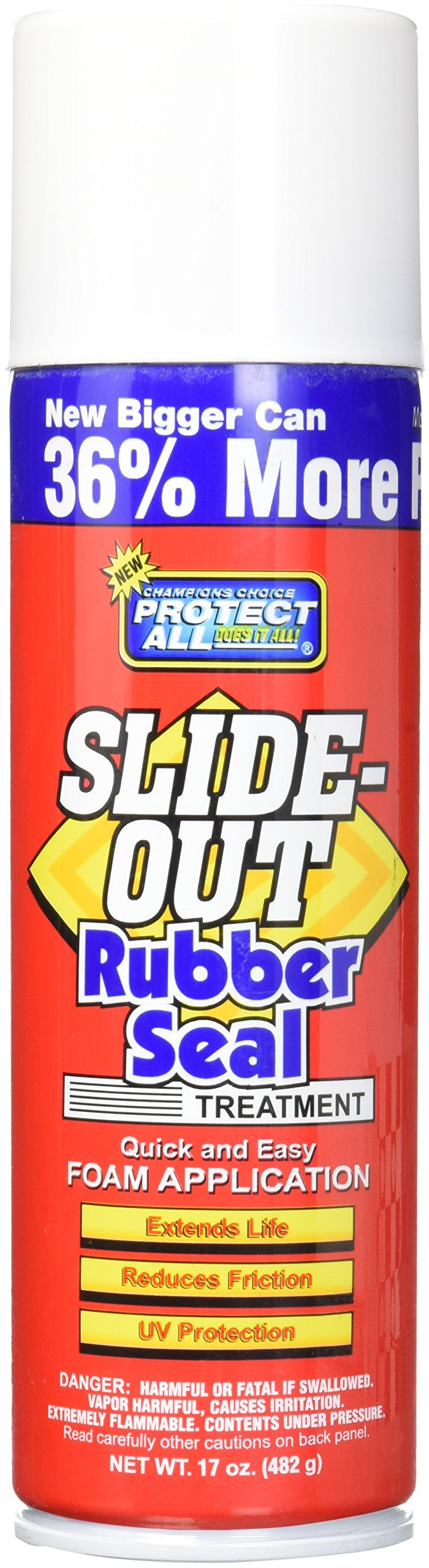 Protect All 40015 Slide-Out Rubber Seal Treatment for RVs, cars, motorcycles - 17 oz. by Protect All