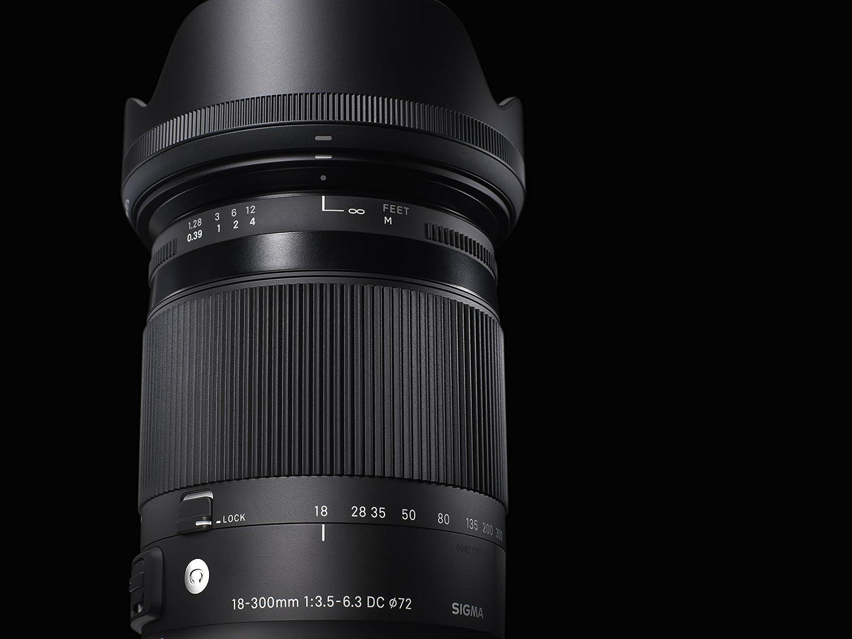 Monture Canon Sigma Objectif 18-300 mm F3.5-6.3 DC Macro OS HSM C014 F