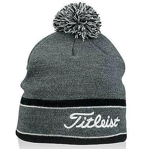 Amazon.com  New 2013 Men s Titleist Winter Hat Pom Pom Toboggan ... f98cfbecc7f9