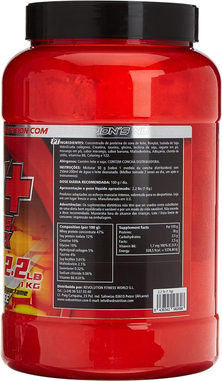 WD Proteina, fresa y platano - 1000 gr: Amazon.es: Salud y ...