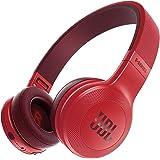 JBL E45BT Bluetoothヘッドホン 密閉型/オンイヤー/マイク付  レッド JBLE45BTRED 【国内正規品】