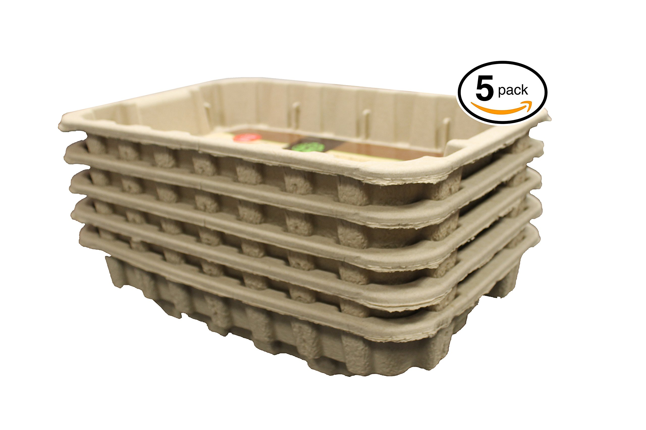 Disposable Cat Litter Boxes, Pre-Filled with 100% Recycled Paper Litter Pellets- 5 Pack of Trays- Includes Litter. Eco Friendly! Simply Peel Off Perforated Lid, Use, Dispose of Entire Tray! 4