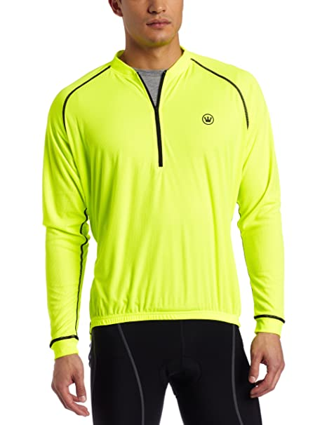 60debc09a Amazon.com   Canari Cyclewear Men s P2 Jersey (Killer Yellow