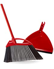 Vileda Super Angle Pro Broom with Dustpan