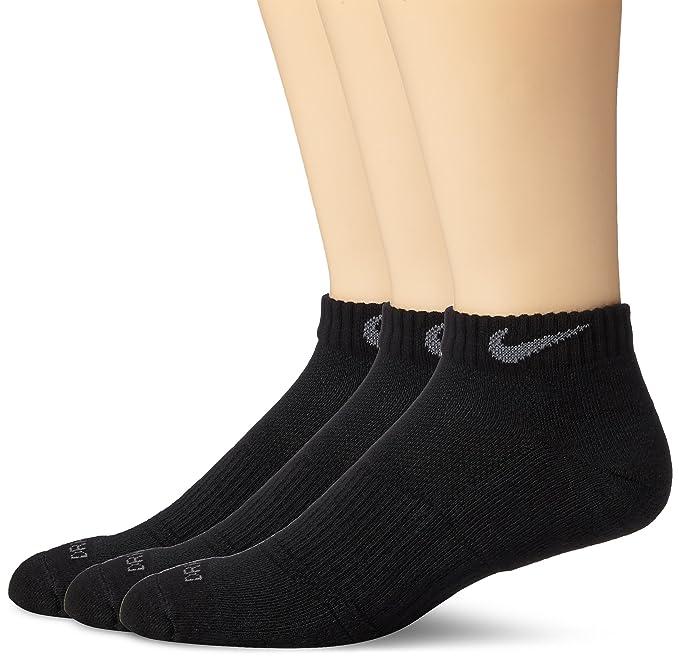 Nike Mens Dri-FIT amortiguado calcetines atl¨¦ticos de corte bajo 3