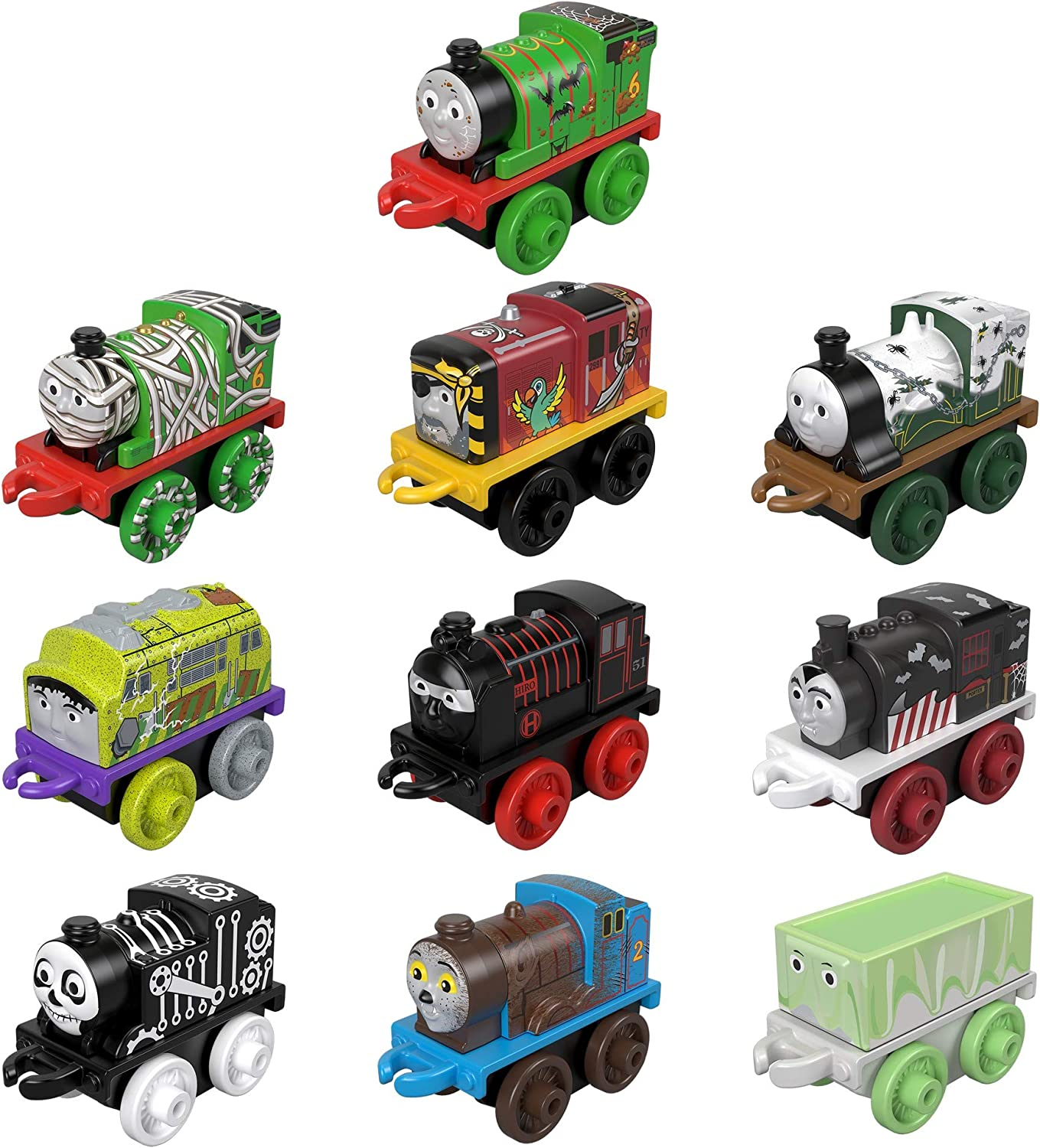 Fisher-Price Thomas & Friends MINIS Themed Hall, 10 Pack