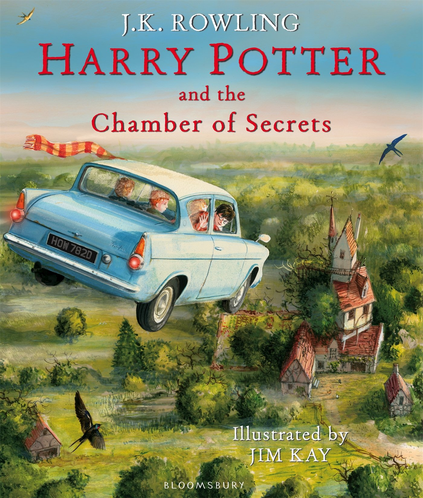Harry Potter and the Chamber of Secrets: Illustrated Edition ...