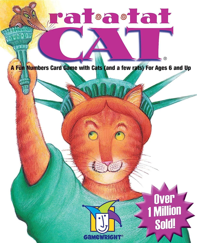 Gamewright Rat-a-tat Cat Game: Amazon.es: Juguetes y juegos