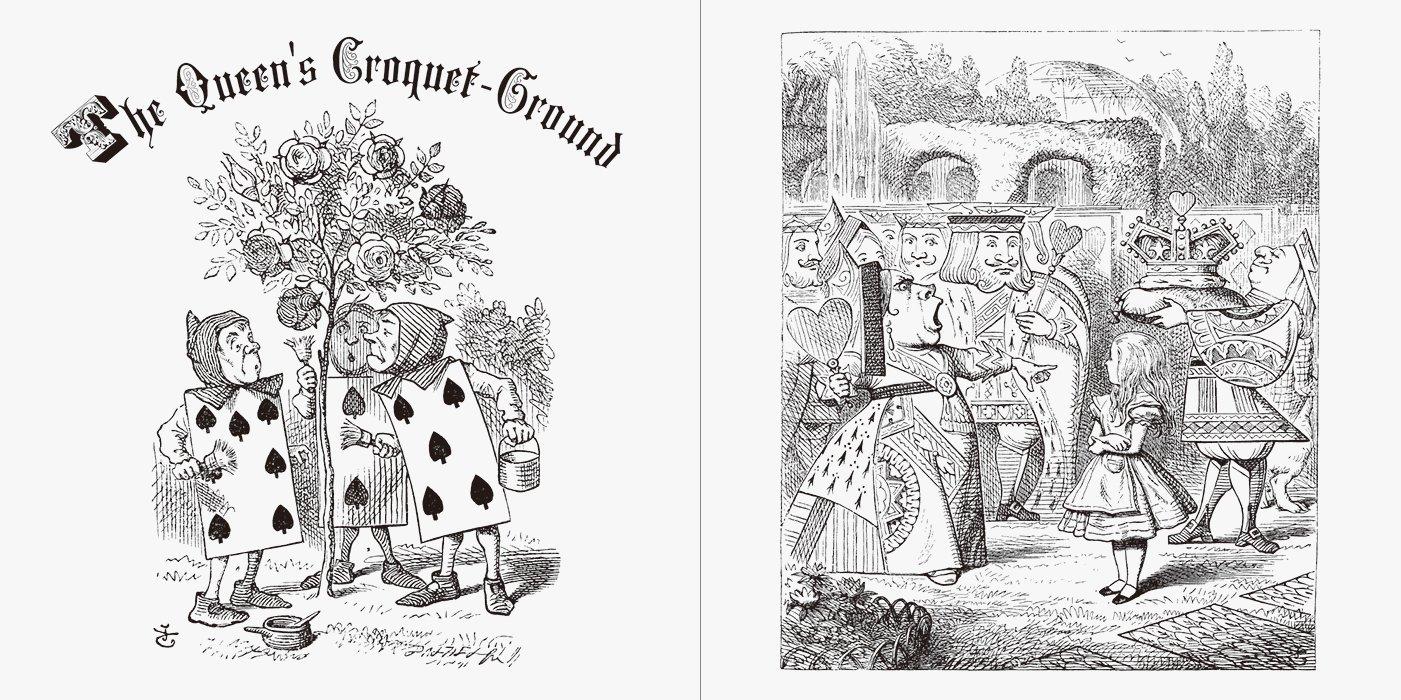 Alice In Wonderland Coloring Book Japanese Edition John Tenniel 9784756247612 Amazon Books
