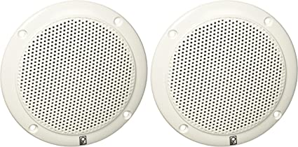"""Poly-Planar MA4054WS Low Magmetic Field 4/"""" Coaxial Speakers// Pair"""
