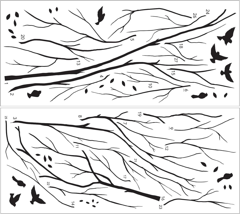 WallPops Birds Eye View Wall Decal