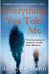 Everything You Told Me Paperback