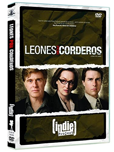 Leones por corderos [DVD]: Amazon.es: Tom Cruise, Meryl ...