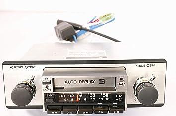 Sanyo Classic Car Radio Indash Cassette Car Stereo FT214M Retro