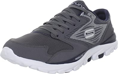 Skechers GO Run - Zapatillas de Deporte para Hombre, Color Gris, Talla 42: Amazon.es: Zapatos y complementos