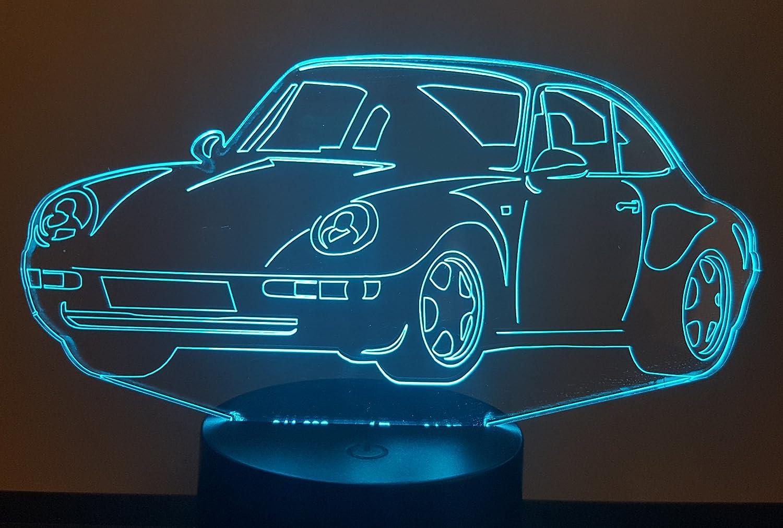 3D-LAMPE PORSCHE 911-993 getrennt Targa