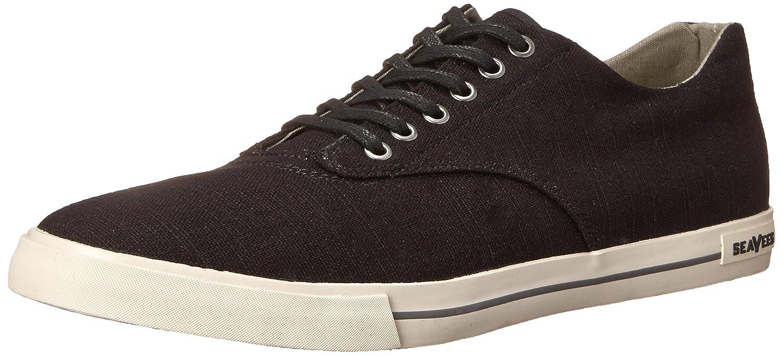 SeaVees Men's 08/63 Hermosa Plimsoll Standard Tennis Shoe B00M0PZ1VQ 10.5 M US Black