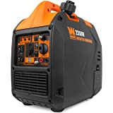 WEN 56235i Super Quiet 2350-Watt Portable Inverter Generator with Fuel Shut Off, CARB Compliant, Ultra Lightweight, Black