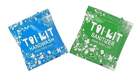 Buy Toikit Hand Wash 1 5ml And Hand Sanitizer 1ml Sachets Pack Of