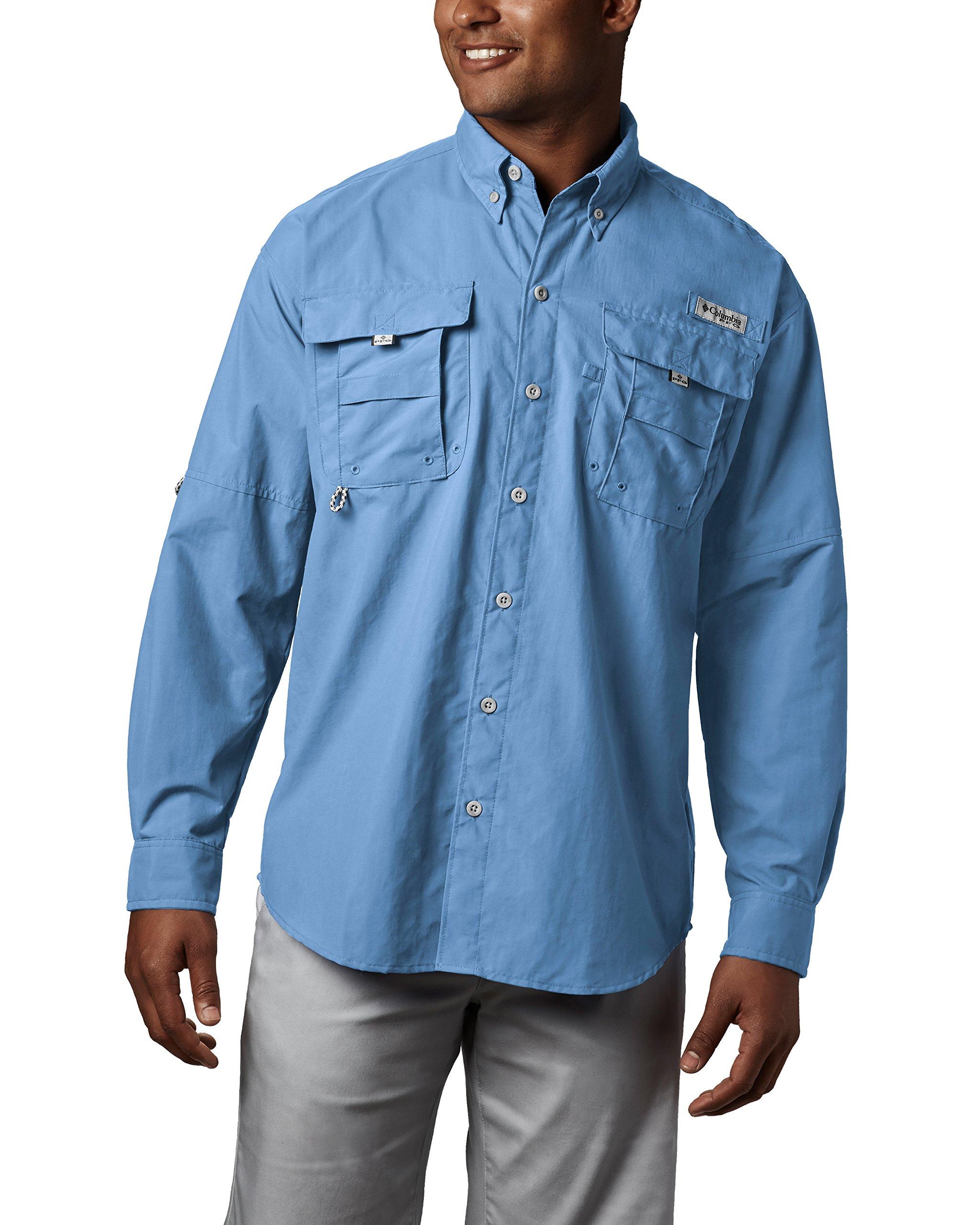 fe818564 Columbia Men's PFG Bahama II Long Sleeve Shirt, Breathable with UV  Protection