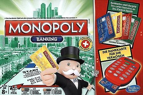 Hasbro Monopoly Elektronisch Bankieren Niños Simulación económica - Juego de Tablero (Simulación económica, Niños, Niño/niña, 8 año(s), 64 Pieza(s), AAA): Amazon.es: Juguetes y juegos