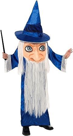 Amazon.com: Forum Novelties Big Face Wizard Costume, One Size ...