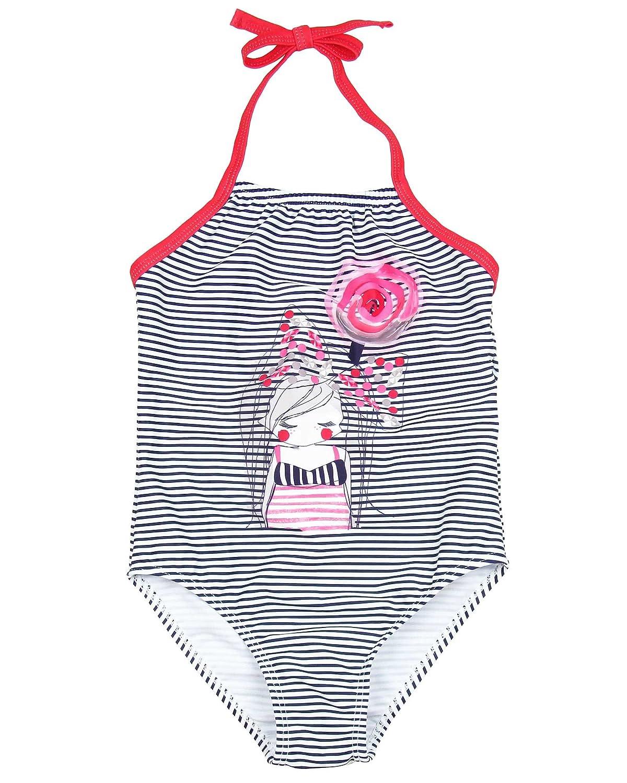 Deux par Deux Girls Striped One-piece Swimsuit Coast to Coast Sizes 4-12