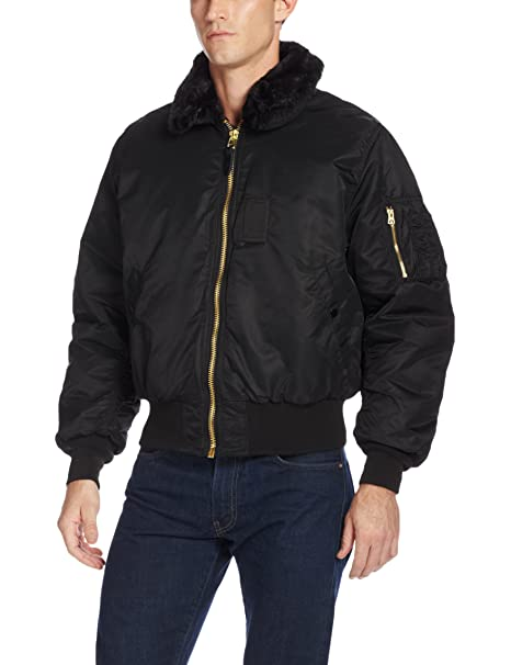f38e48048bfd2 Alpha Industries Men s B-15 Nylon Flight Jacket  Amazon.ca  Clothing ...