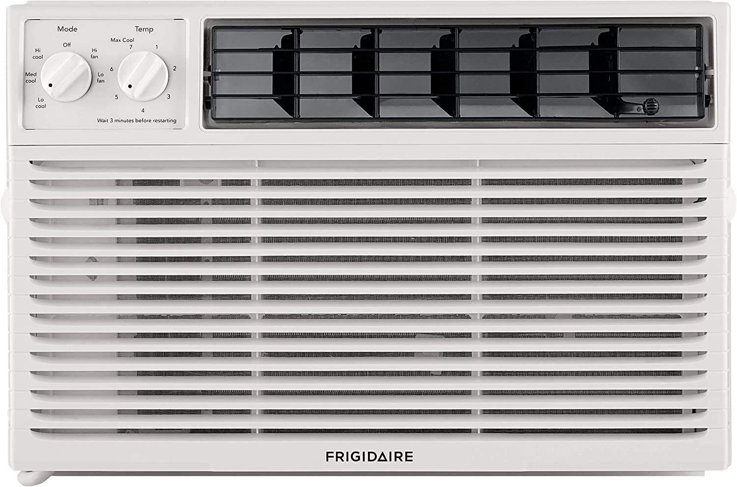 Frigidaire FFRA081ZAE Window Mount Air Conditioner 8, 000 Btu White